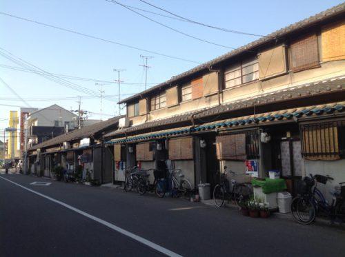 大阪の長屋